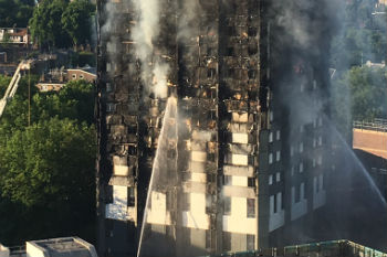 Human rights watchdog launches Grenfell fire inquiry image