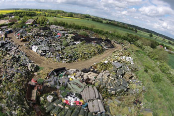 Illegal tipping sites uncovered in sting operation  image