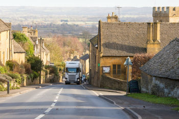 Increased lorry loads contribute to 'pothole crisis' image