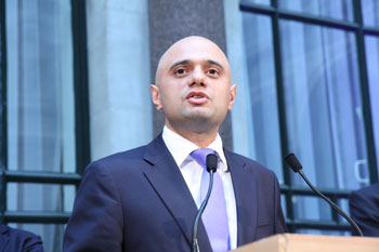 Javid announces 'public health duty' to tackle violent crime  image