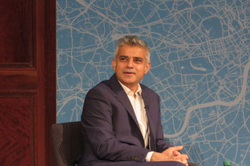 Khan awards tech firms £15,000 to tackle London's challenges   image