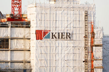 Kier sees shares plummet by 33% after £264m rights issue image