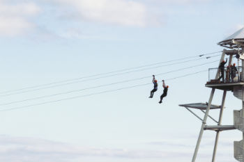 Liverpool to host 'first permanent' city zip line  image