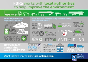 Local authorities go green with FORS image