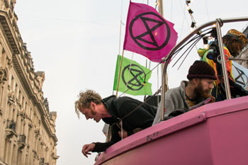 Local governments relationship with Extinction Rebellion image