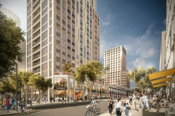 London council regeneration scheme to create 'mini-Manhattan' image