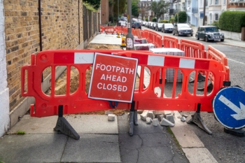 London's lane rental scheme to include pavements for first time image