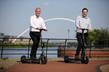 Mayor announces UKs first trial of e-scooters image
