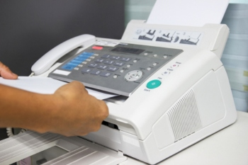 More than 500 fax machines being used across local government image
