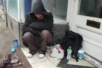 Nearly £2m awarded to projects improving health services for the homeless image