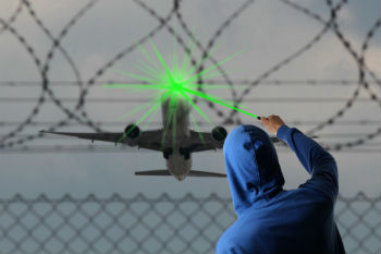 New measures to tackle the dangerous use of lasers announced image
