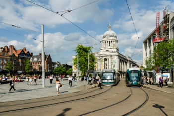 Nottingham sets sights on being UK's first carbon neutral city image