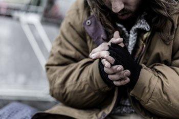 Number of homeless people admitted to hospital rises 130% in five years image