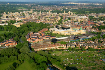 Oxford and Reading top city performance list image