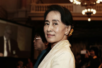 Oxford strips Aung San Suu Kyi of freedom accolade    image