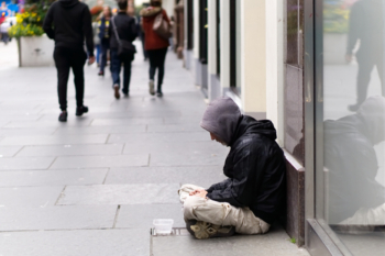 PM announces extra £236m to tackle rough sleeping image