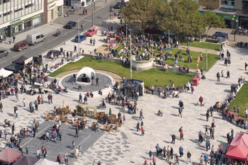 Pedestrian Environment Winner: Italian Gardens, North Somerset Council image
