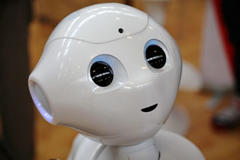 Pepper the robot to take on social care tasks image