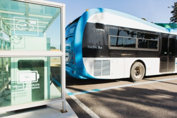 Plans outlined for Britain's first all-electric bus town image