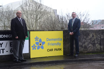 Plymouth first to launch dementia friendly parking spaces image