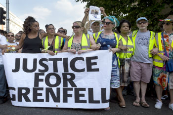Police consider corporate manslaughter charges for Grenfell fire  image