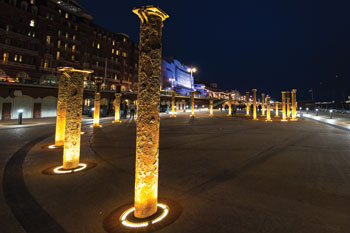 Public Lighting Winner: Winner: The Golden Spiral, The terra firma Consultancy and Brighton and Hove City Council image