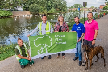 Record number of spaces achieve Green Flag Awards image