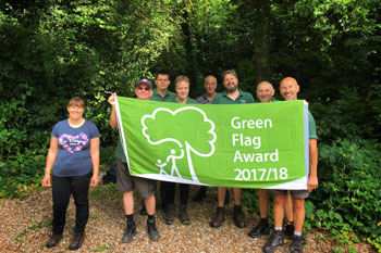 Record number of spaces raising the Green Flag image