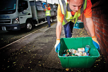 Recycling schemes given a partnership boost image
