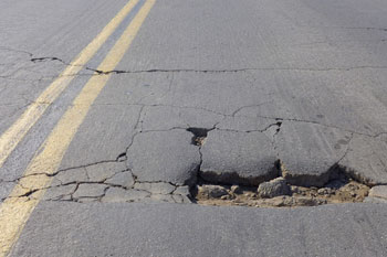 Report reveals increase in pothole-related breakdowns image