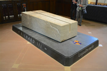 Richard III's resting place granted protection image