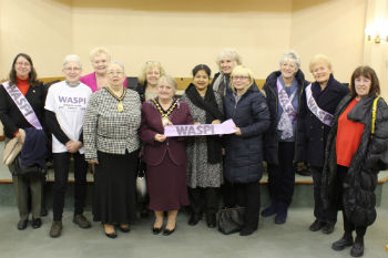 Sandwell backs 'fairer' pension motion for women born in the 1950s image