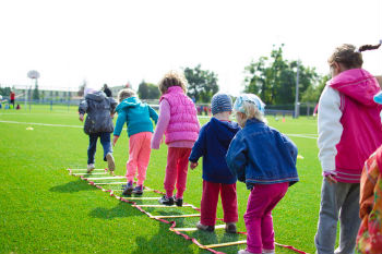 School summer holidays creating class divide over fitness levels image