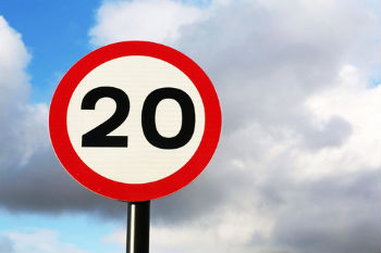 Scotland's first 20mph road network has 'real impact' on safety image