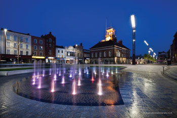 Stockton's reinvention of the high street image