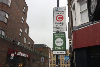 Think tank calls for per-mile London road charging image