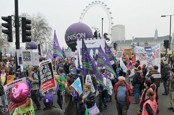 Trade Union Act threat to 'a fundamental British liberty', TUC says image