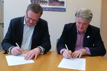 Two South West councils sign joint working deal image