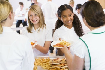 Two-tier school meals standards must end, says LGA image