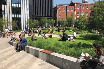 Urban Green Space Commended: Mitre Square, City of London Corporation image