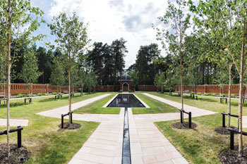 Urban Green Space Winner: Muslim War Cemetery Peace Garden, The terra firma Consultancy and Woking Borough Council image