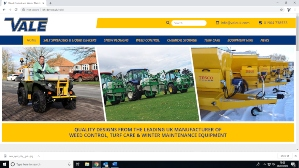 VALE Engineering launches new website for weed control, turf care & winter maintenance image