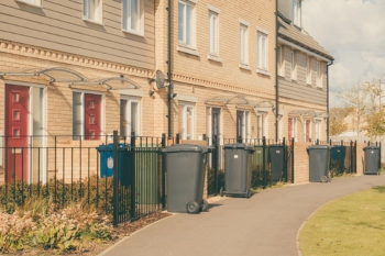 Waste collections 'return to normal' image
