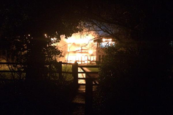 Watch: Video reveals fire damage to 'decimated' South Oxfordshire offices image