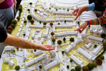 Waves of engagement in estate regeneration image