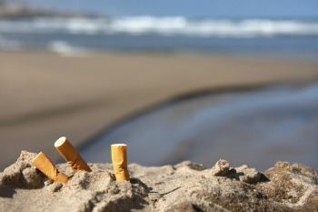 Welsh council to ban cigarettes from seafront and playgrounds image