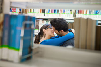 Library sex