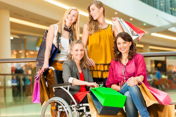 Disabled People Denied Pleasure Of Christmas Shopping