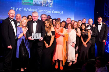 afc3f8ebd90 The City of Wolverhampton Council was named Local Authority of the Year at  The MJ Awards last night.