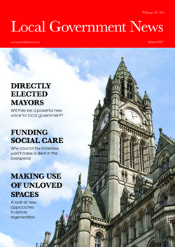 LGN Issue cover:March 2017